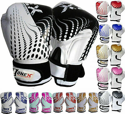 ONEX 2oz 4oz 6oz Kids Boxing Gloves Junior Mitts PunchBag Children Gel Pad Glove