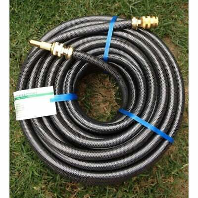 "Garden 50M Durable Tradesman Water Hose 18MM - 3/4"" Brass Fittings 8/10 KinkFree"