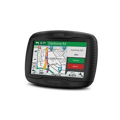 Garmin 395 Lm Motorcycle Bike Sat Nav Gps / Uk European Free Maps Updates