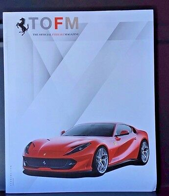 TOFM The Offical Ferrari Magazine  #35 ferrari 812 superfast