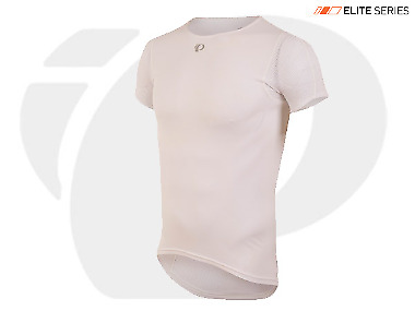 Pearl Izumi Transfer Baselayer Short Sleeve Cycling 14121604 White