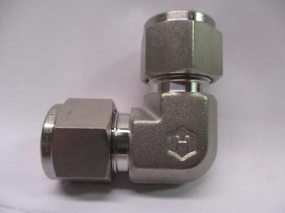 """Ham-Let 765L-SS-1/2 90° 316 Stainless Steel Elbow Tube Fitting 1/2"""" OD"""