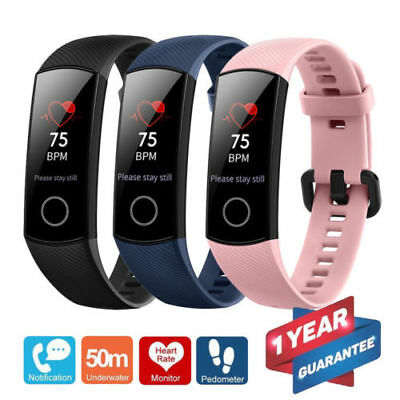 Huawei Honor Band 4 Wristband Touch Screen Bluetooth Heart Rate Fitness Watch UK