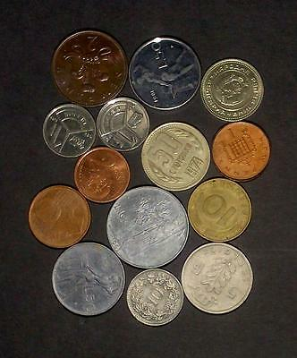 Selection of coins from European countries (60g)
