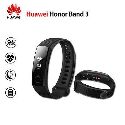 Huawei Honor Band 3 Smart Wristband Watch HR Swimming Pedometer Fitness Tracker