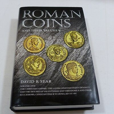 Roman Coins and Their Values V by David Sear book by Spink