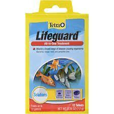 TETRA LiFEGUARD ® Treats Bacteria, Parasites Disease etc., Freshwater Aquarium