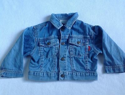 ESPRIT BABY Blue Denim Jacket Size 12 Months
