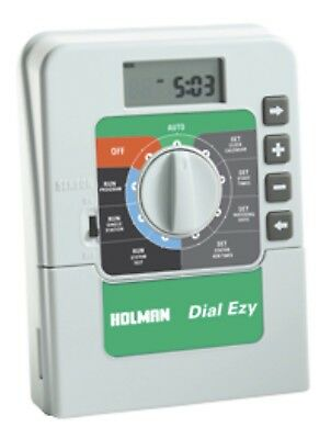 HOLMAN Dial Ezy Indoor Irrigation 6 Station Controller CO4406 Last 2 RRP $99