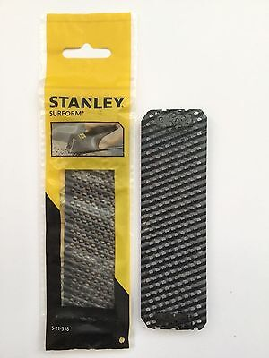 2 X Stanley 140mm surform blade great for dryliners 5-21-398 wood/plasterboard