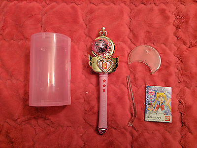 Sailor Moon Cutie Moon Rod Scepter Gashapon Capsule Anime Manga Wand