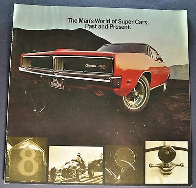 1969 Dodge High-Performance Brochure Charger R/T Coronet Super Bee Swinger 340