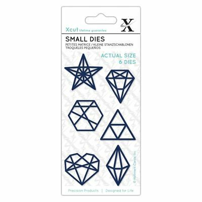 Xcut (Docrafts) Metal Die Set Paper Card Craft - Geometric Shapes