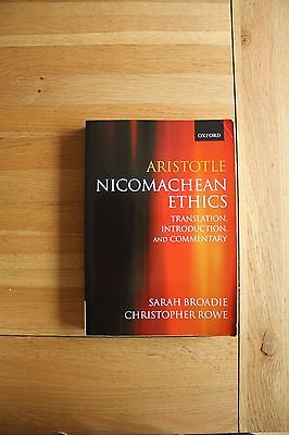 Aristotle - Nicomachean Ethics: Translation, Introduction, Commentary by...