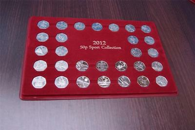 Schulz Exclusive 50P London Coin Tray Sport Collection Case (P50P)