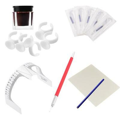 Kit Complet de Tatouage à Sourcils Microblade Tattoo Outils Maquillage Permanent