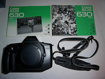 Canon EOS 630 35mm SLR Film Camera Body Only