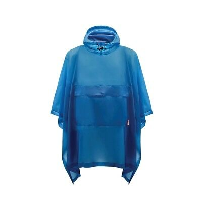Hunter Unisex Original Poncho - Ocean Blue Man-Made