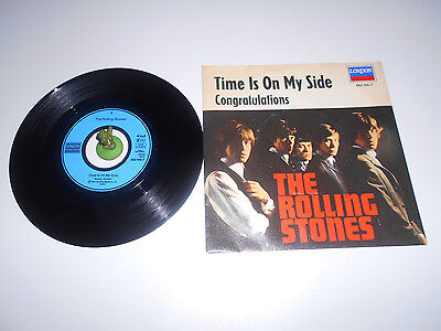 The Rolling Stones - Time is on my Side (1964) Vinyl 7` inch Single Vg ++
