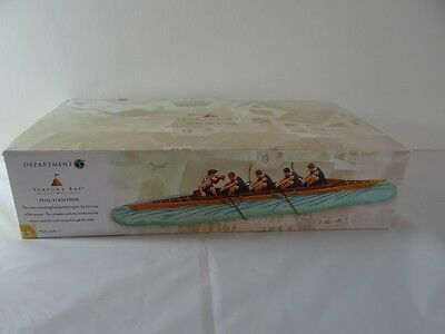 Department 56 Seasons Bay Pull Together Rowers Figurine 56-53600