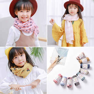 Kids Baby Boy Girls Child Winter Warm Scarf Scarves Neckerchief Shawl Neck Wraps