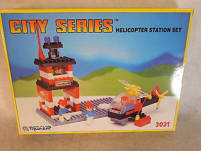 Drive Medical Nebulizer Building Block Set MQ0072 City Series Helicopter Set NIB