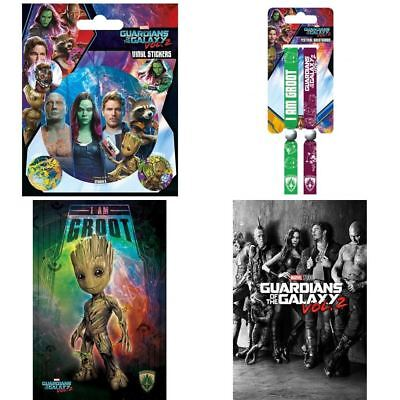 Guardians Of The Galaxy 2 Button Badge Wristband Poster Groot 205 Sticker