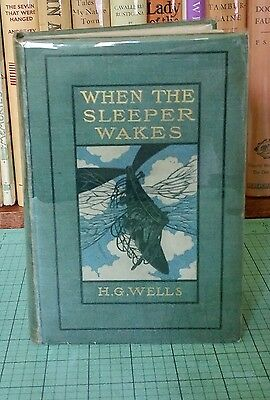 H. G. Wells - When the Sleeper Wakes - First Edition 1899