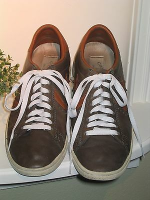 CONVERSE All Star JOHN VARVATOS Brown Leather Sneakers - M 8 - W 10