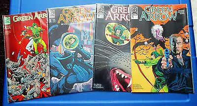 GREEN ARROW 1-90 complete run, 92, Annuals 1-5 (Mike Grell, volume 2) 1988
