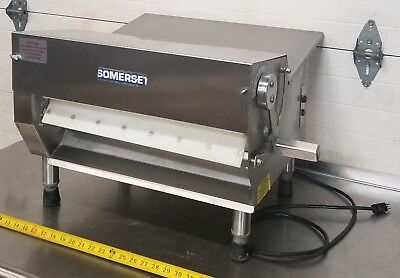 "Somerset Cdr-500 Dough Pizza 20"" Pastry Fondant Sheeter 115V Nice"