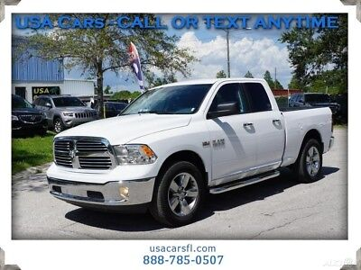 2016 Ram 1500 SLT 2016 Ram 1500 Big Horn Quad 4x4   5.7L V8 HEMI TOW PACK BEDLINER RUNNING BOARDS