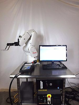 FANUC Robot LR Mate 200iC Thermo CRS Catalyst F5 Momentum System Laboratory