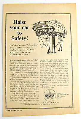 EH Holden wagon 1 page April 1965 Caltex magazine ad