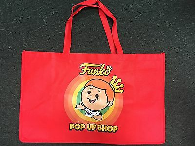 SDCC 2017 Exclusive Funko POP! Funko Freddy Pop Up Shop Red Tote Bag