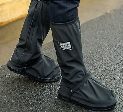Motorbike Scooter Waterproof Shoe Clothing Boot Cover Motorcycle Rain Protection