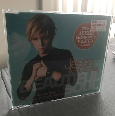Jesse McCartney - Beautiful Soul - Australian CD Single w/ Poster 2004 Pop JMac