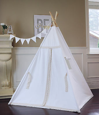 Lace Teepee With Foor Window Pocket  From Canada, Tipi kids teepee tent