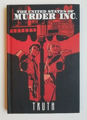 The United States of Murder Inc:Truth Vol.1 ~ NEW ~ HC ~ Graphic Novel ~ ICon