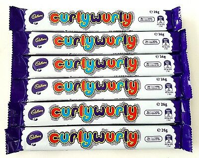 24 x Cadbury Curly Wurly Bars 26g