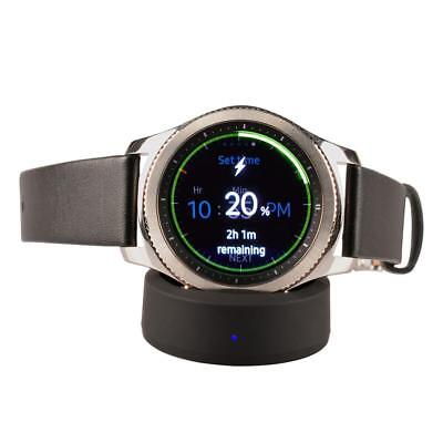 Magnetic Wireless Charger Charging Stand Dock For Samsung Gear S3 S2 Smart Watch