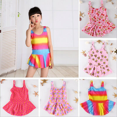 Random Children Swimsuit Bathing Swimwear Swimming Beach Tankinis Bikini Sets
