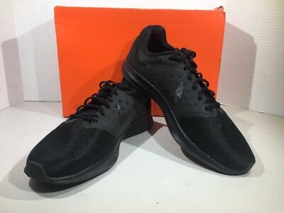 Nike Downshifter 7 Mens Size 10.5 Black Anthracite Athletic Shoes X4-2553