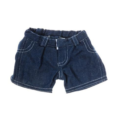Denim Shorts Teddy bear clothes