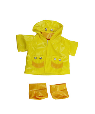 Duck Raincoat Teddy bear clothes