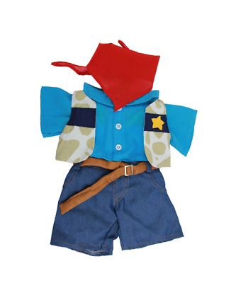 Cowboy teddy Teddy bear clothes