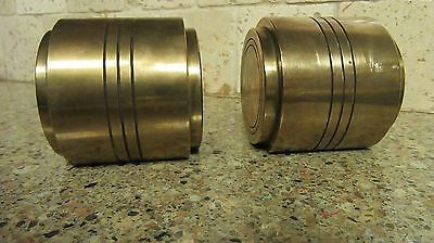 Vintage Heavy Brass Bookends 8.8 lbs. each
