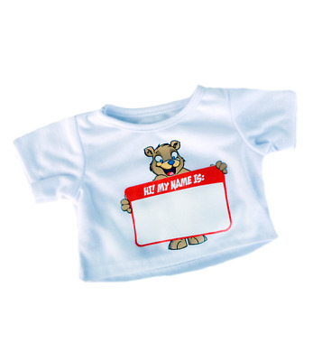 Personalised Teddy T-shirt