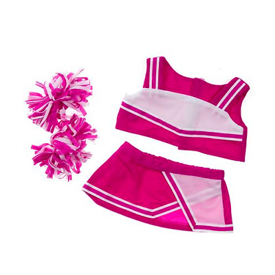Teddy Cheerleader in Pink