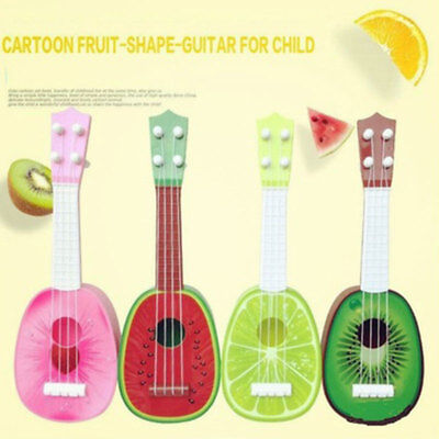Kids Fruit Ukulele Ukelele Small Guitar Musical Instrument Educational Toy